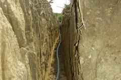 Kolektorska cijev u kanalu